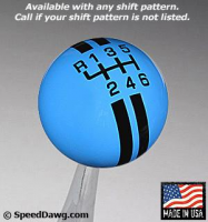 Mustang Rally Stripe Shift Knob (6 speed with Reverse Upper Right - grabber).jpg