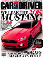 Mustang 2015 - 1 - article de Car and Driver du mois de Decembre 2013.jpg