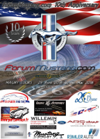 Les 10 ans de forum Mustang