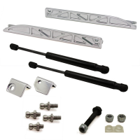 Shelby GT500 2011 Billet Hood Supports - UPR Products - 1.jpg