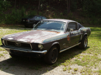 restauration fastback 68 ford mustang. Black Bedroom Furniture Sets. Home Design Ideas